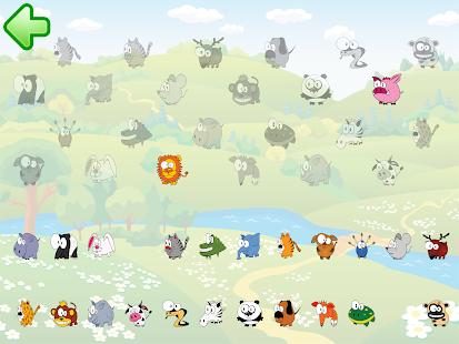 Funny animal puzzle HD Full - screenshot thumbnail