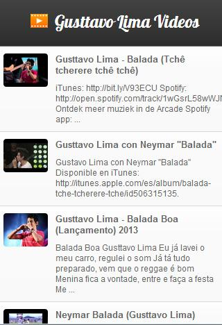 Gusttavo Lima Videos - screenshot