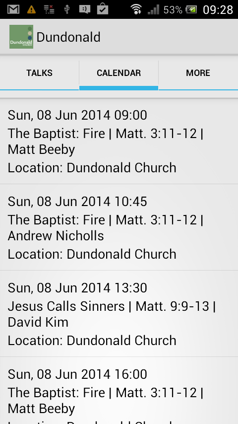 Dundonald Church London- screenshot