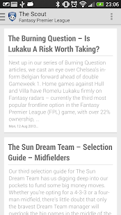 Fantasy Premier League - screenshot thumbnail