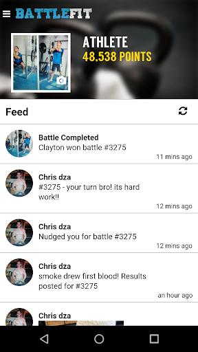 BattleFit - The Social Workout