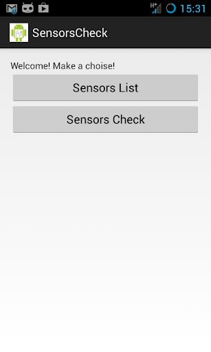 SensorsCheck