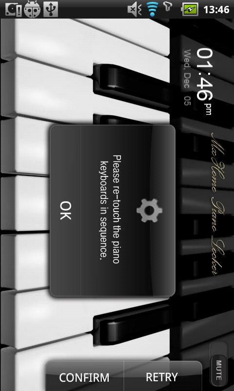 [Tia Lock] Piano Free Theme - screenshot