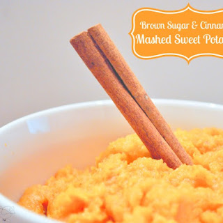 Brown Sugar and Cinnamon Mashed Sweet Potatoes Recipe