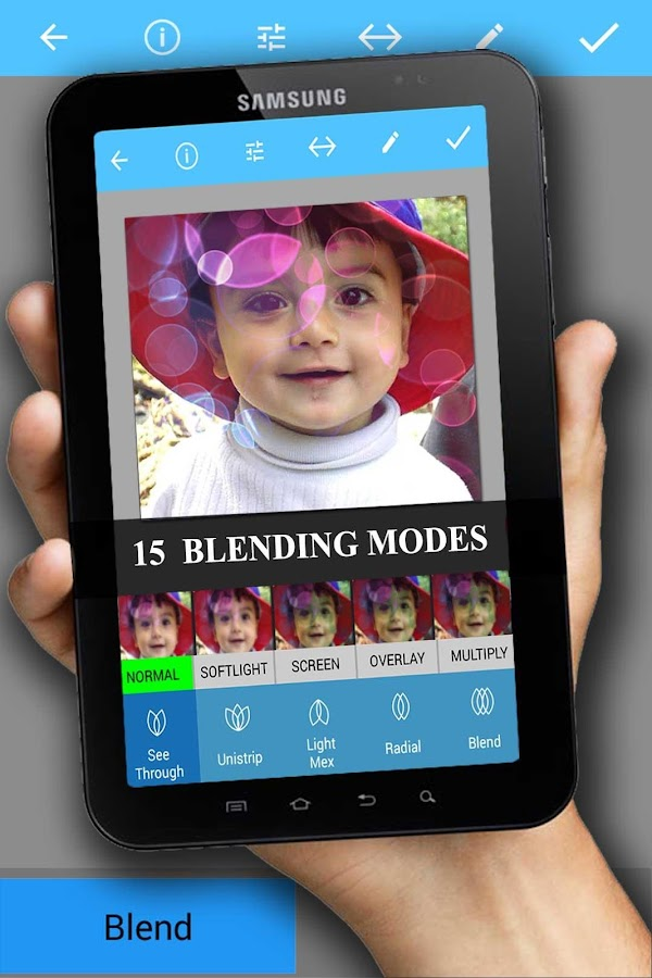 Image Blender Instafusion Free - screenshot
