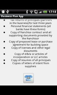 Business Plan App - screenshot thumbnail