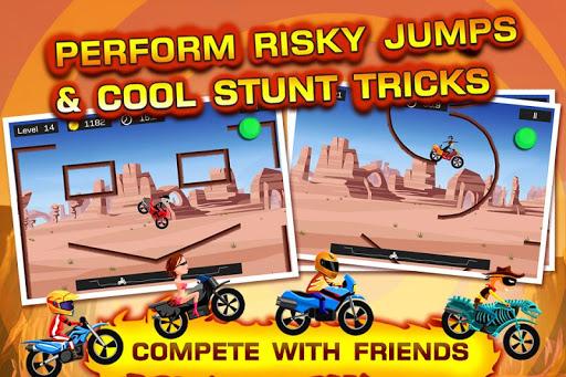 Top Bike - best physics bike stunt racing game 3.89 screenshots 1