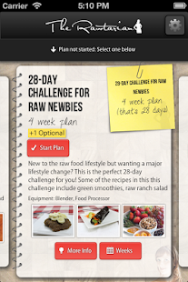 Rawtarian's Raw Meal Plans - screenshot thumbnail
