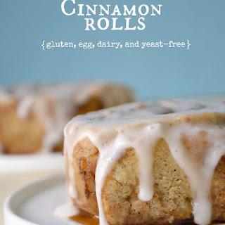 Yeast-Free Cinnamon Rolls