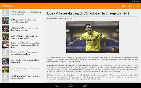 Resultados del fútbol - screenshot thumbnail