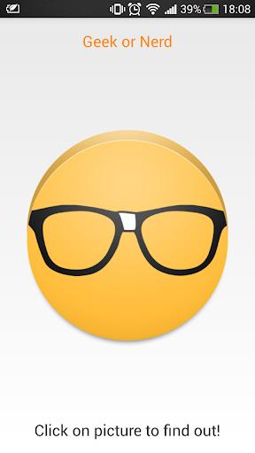 Geek or Nerd