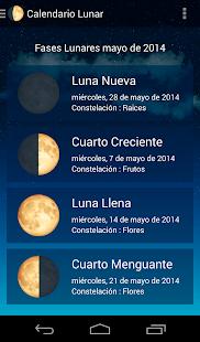 Calendario Lunar - Aplicaciones en Google Play