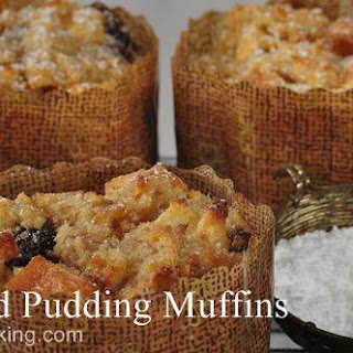 Bread Pudding Muffins Tested