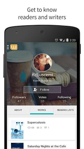 android Wattpad - Free Books & Stories Screenshot 12