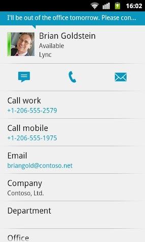 Lync 2010 Screenshot