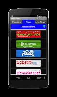 Screenshot of Kannada News Daily Papers