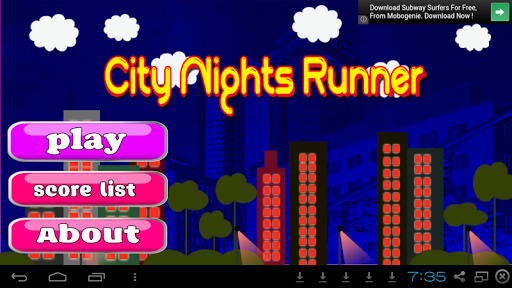 Survival Run Game- City Nights