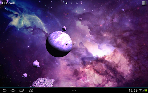 Asteroids 3D live wallpaper screenshot 13