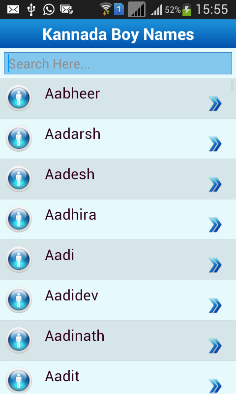 Kannada Baby Names Meaning Screenshot
