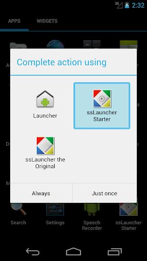 ssLauncher Starter