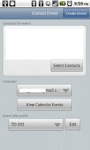 Contact Event- screenshot thumbnail