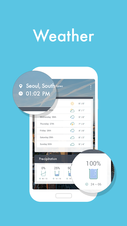 Weather +- screenshot