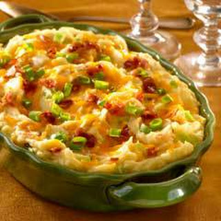 Creamy Loaded Mashed Potatoes.