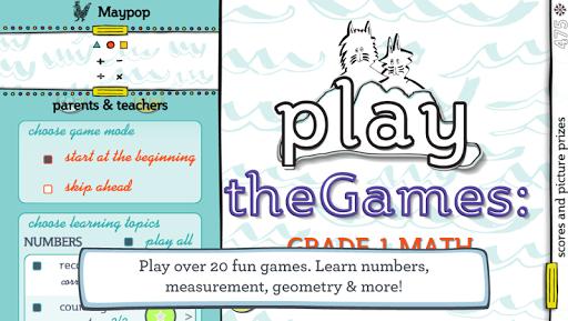 theGames: Grade 1 Math