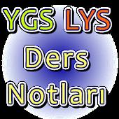 YGS LYS Ders Notları