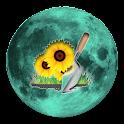 Lunar Calendar. Garden
