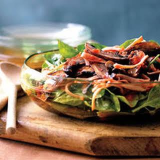 Warm Portobello Salad.