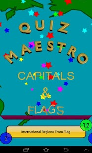 Capitals & Flags Quiz Maestro - screenshot thumbnail