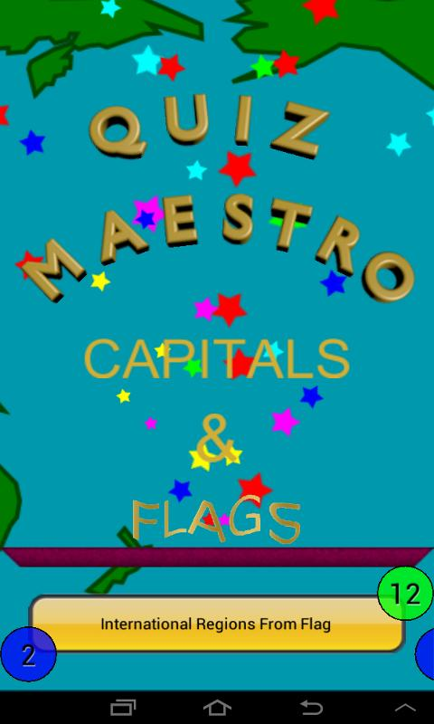 Capitals & Flags Quiz Maestro - screenshot