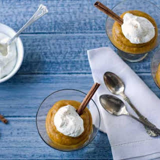Gluten Free Almost Instant Pumpkin Mousse.