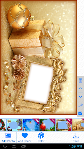 無料摄影Appのクリスマスフォトフレーム|記事Game