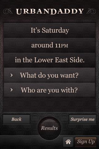 UrbanDaddy- screenshot