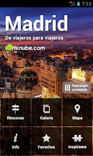 Guía de Madrid - minube - screenshot thumbnail