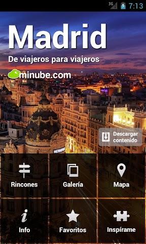 Screenshot 1 Madrid Guía de viajes offline