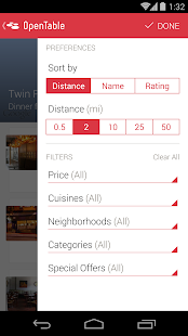 OpenTable - Free Reservations - screenshot thumbnail