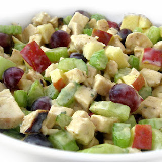 Skinny Waldorf Chicken Salad