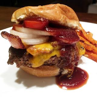 Venison Garlic Bacon Hamburger.
