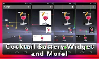 Screenshot of Drink Battery Widget Cocktail