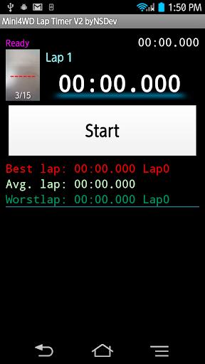 Mini4WD Lap Timer V2 byNSDev 1.2.3 Windows u7528 1