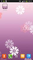 Screenshot of Flower Live Wallpaper for S4