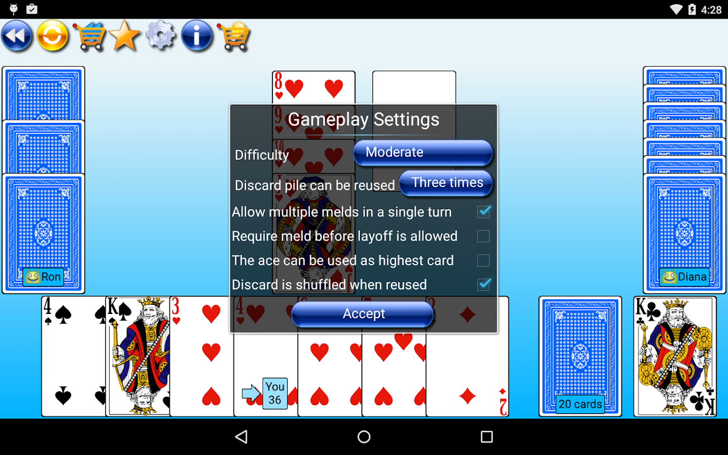 G4A: Rummy- screenshot