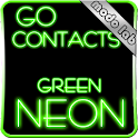 Green Neon GO contacts theme icon