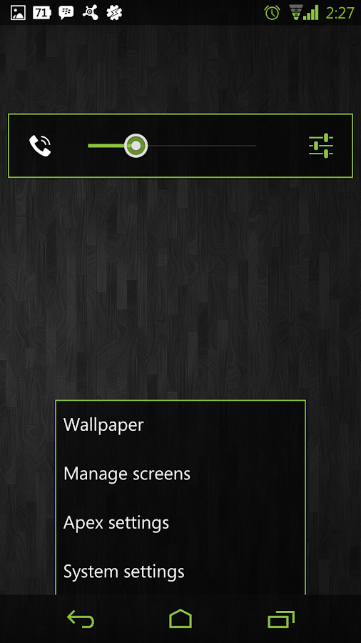 Green CM11 AOKP Theme- screenshot