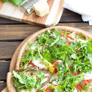 Chicken Pesto Pizza.