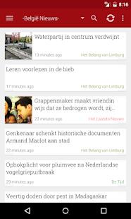 België Nieuws- screenshot thumbnail