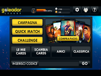 Goleador League- miniatura screenshot